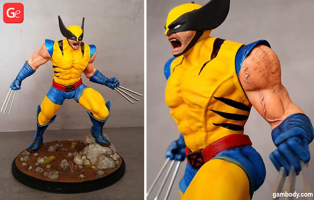 Wolverine popular 3D prints ideas