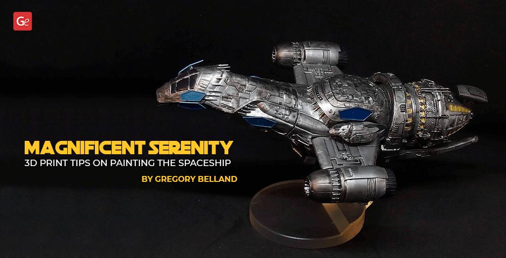 Serenity model 3D print