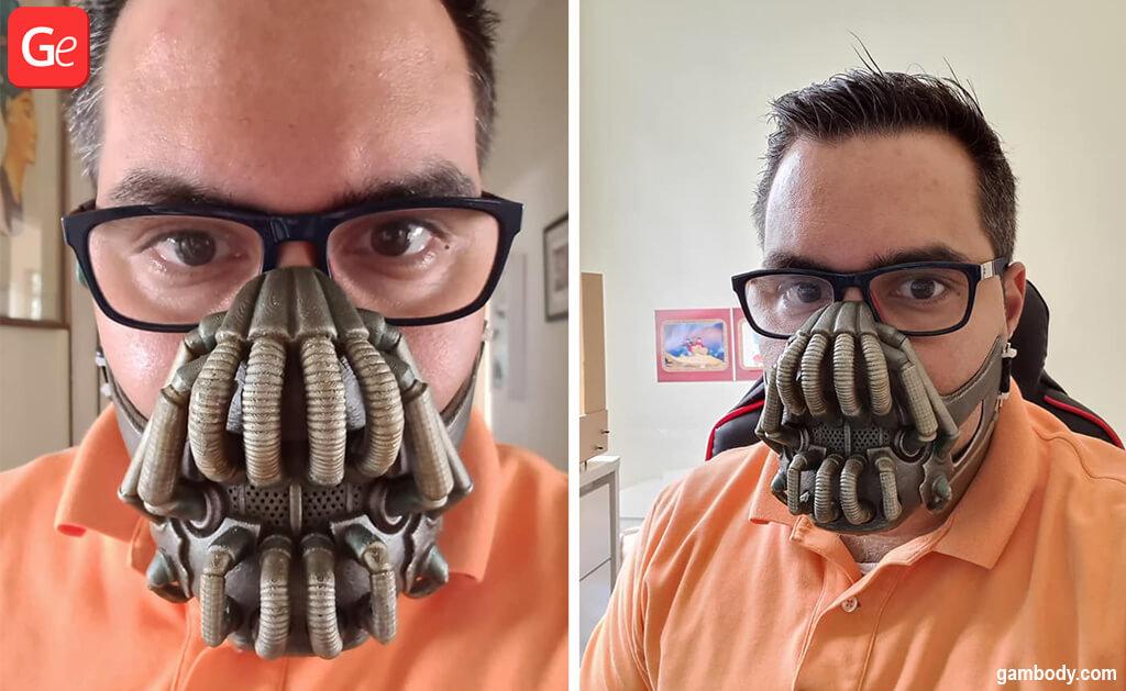 Bane mask 3D printing model