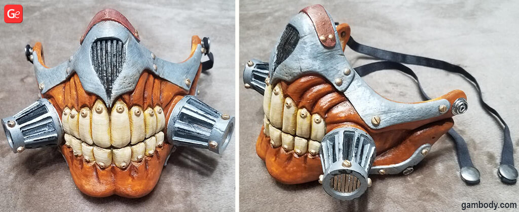 Immortan Joe 3D print cosplay