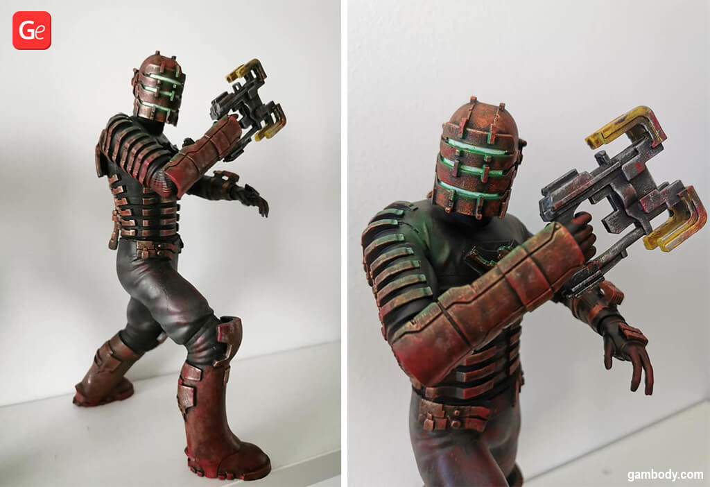 Isaac Clarke figurine 3D printing ideas