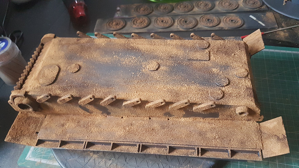 How to paint rust on metal 3D printing parts