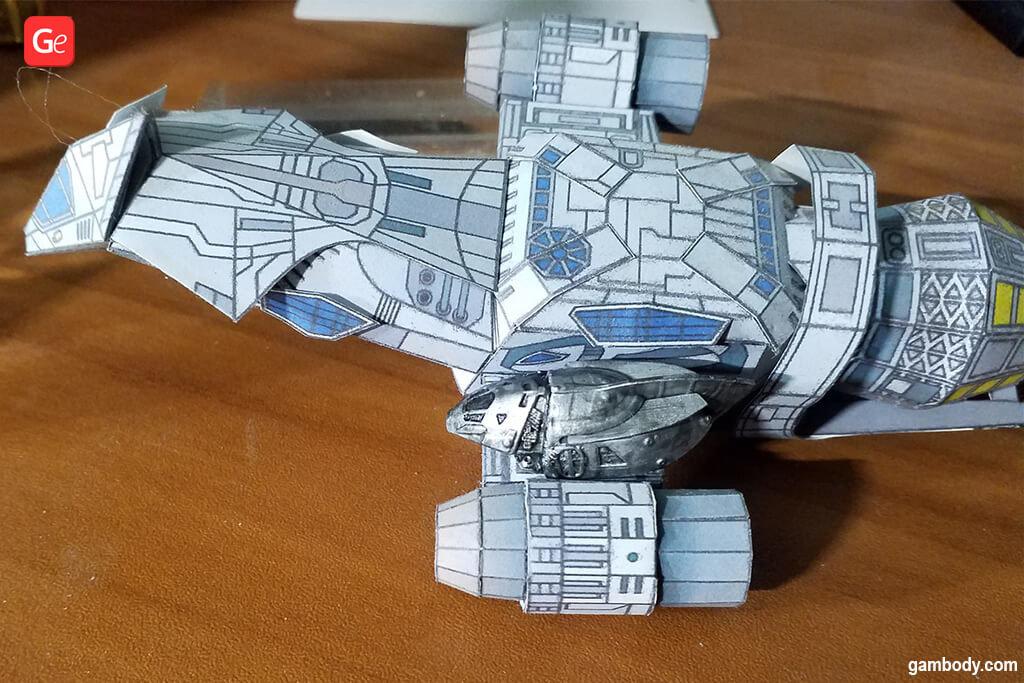 Serenity shuttle 3D printed model