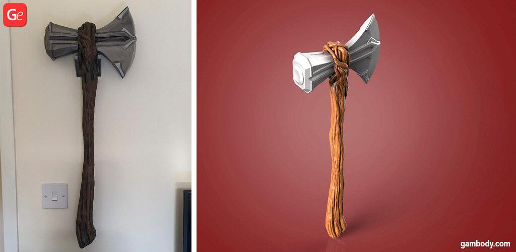 Thor Stormbreaker axe 3D printing ideas
