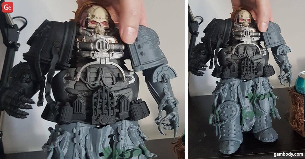 Chaplain 40K 3D printing figurine