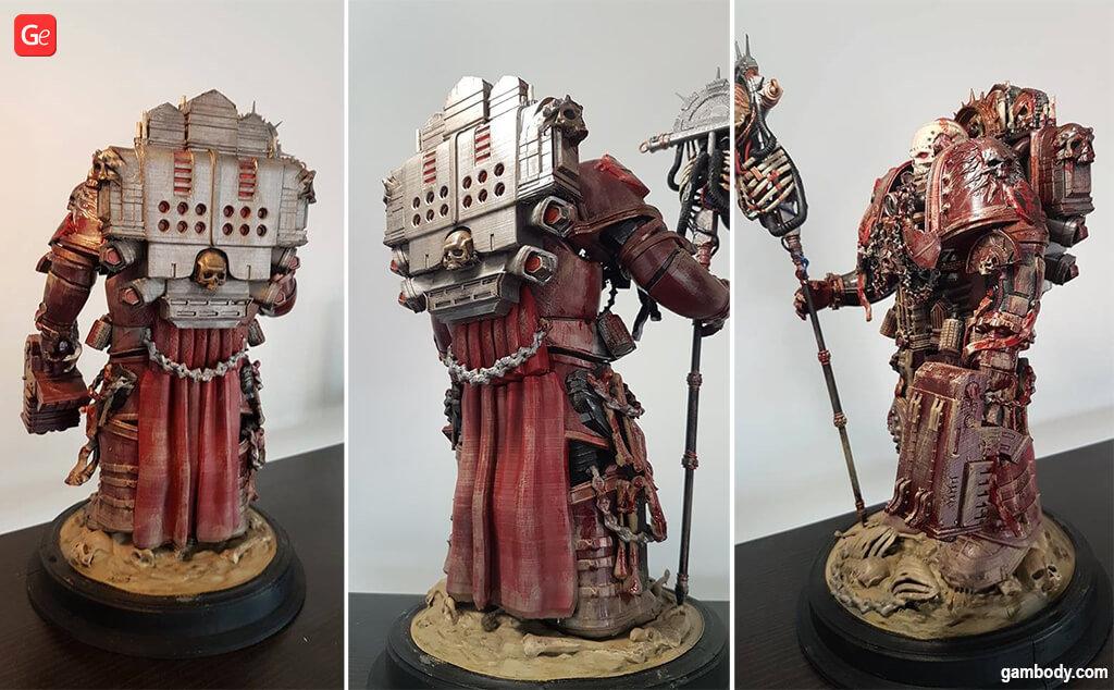 40K Chaplain models for 3D printing