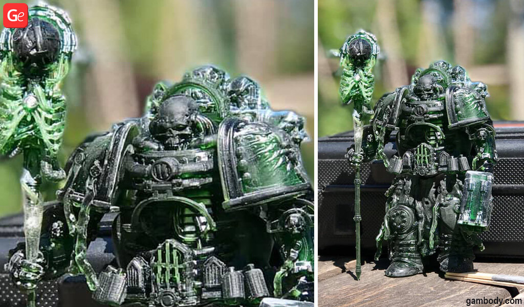 Chaplain Dreadnought model for 3D printing