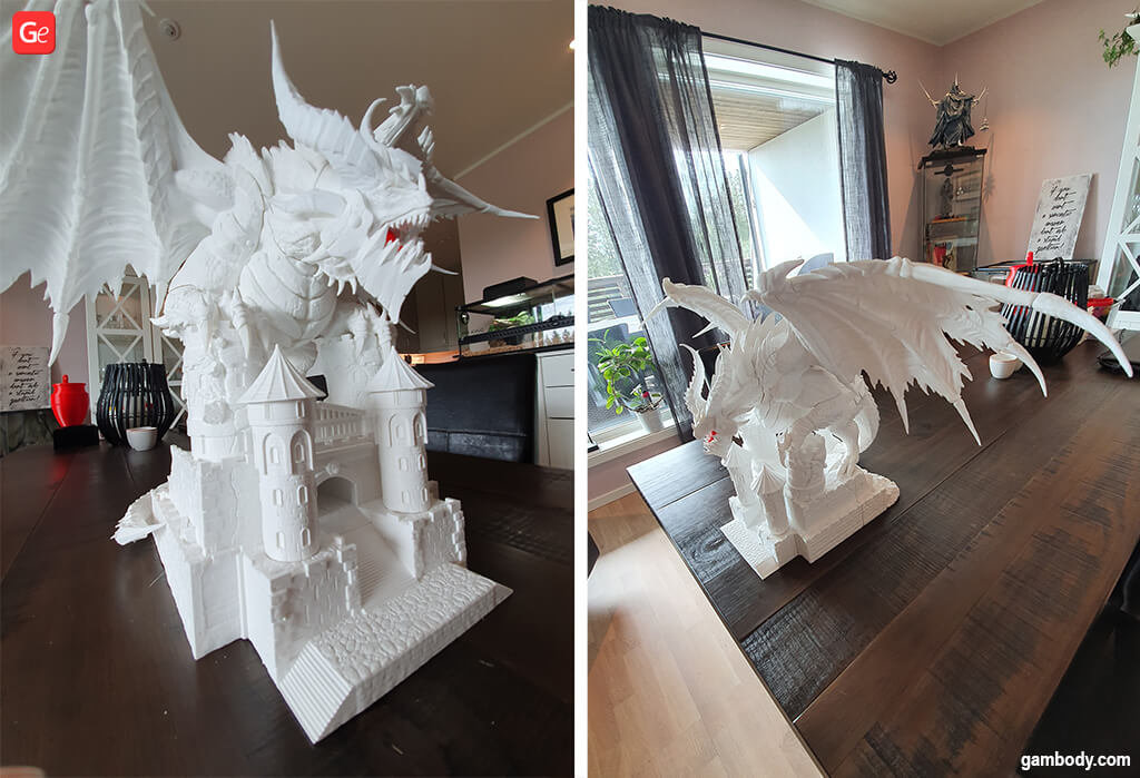 Deathwing figurine awesome 3D print files