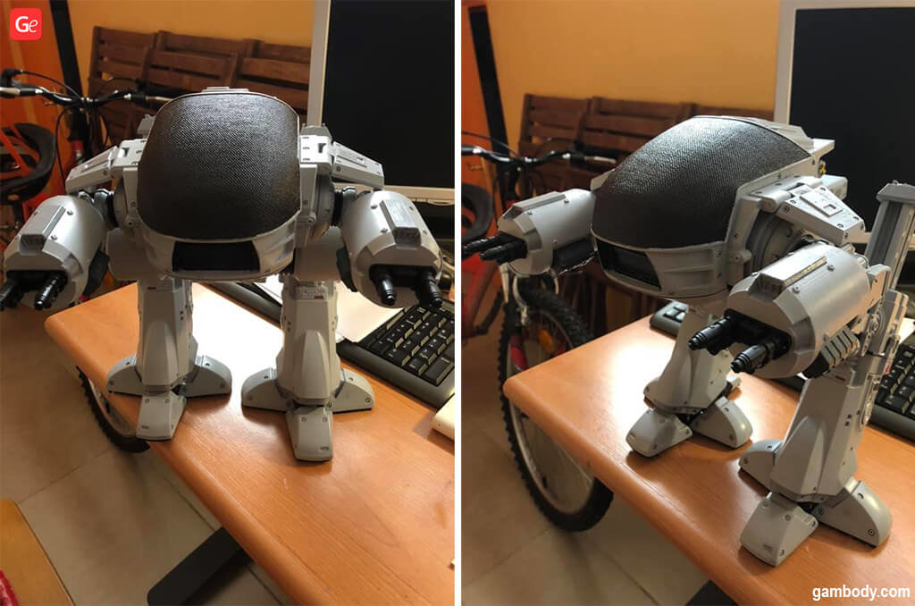 ED-209 3D model print with STL files