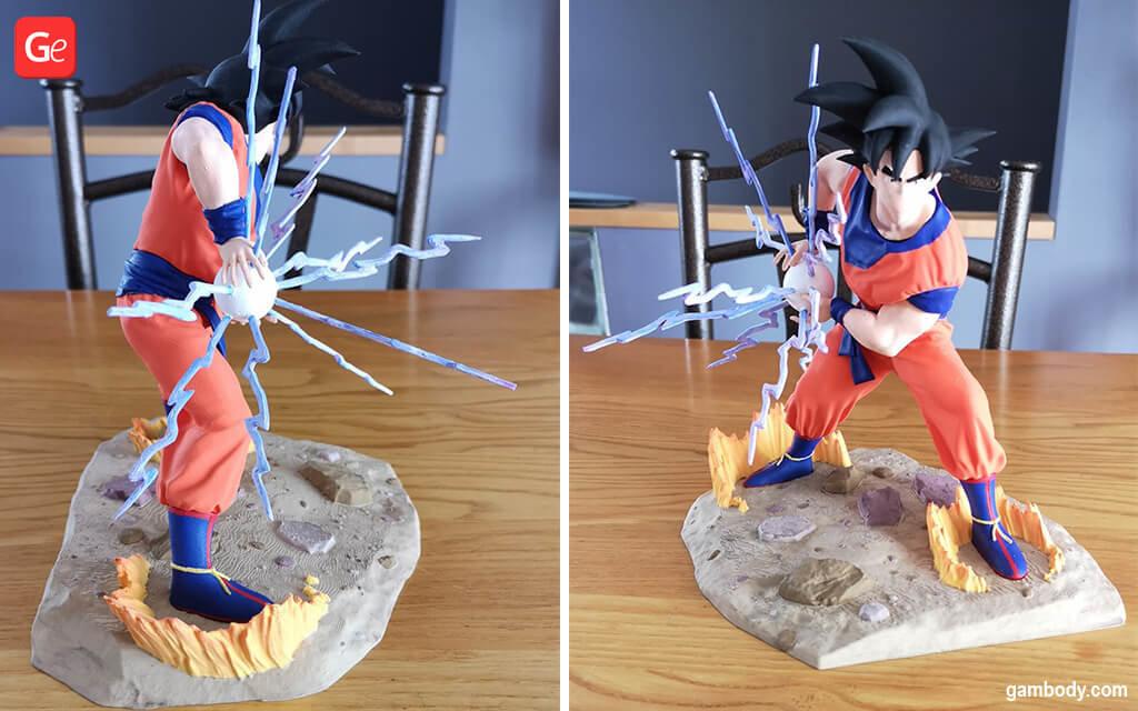 Goku Kamehameha anime things to 3D print in 2020
