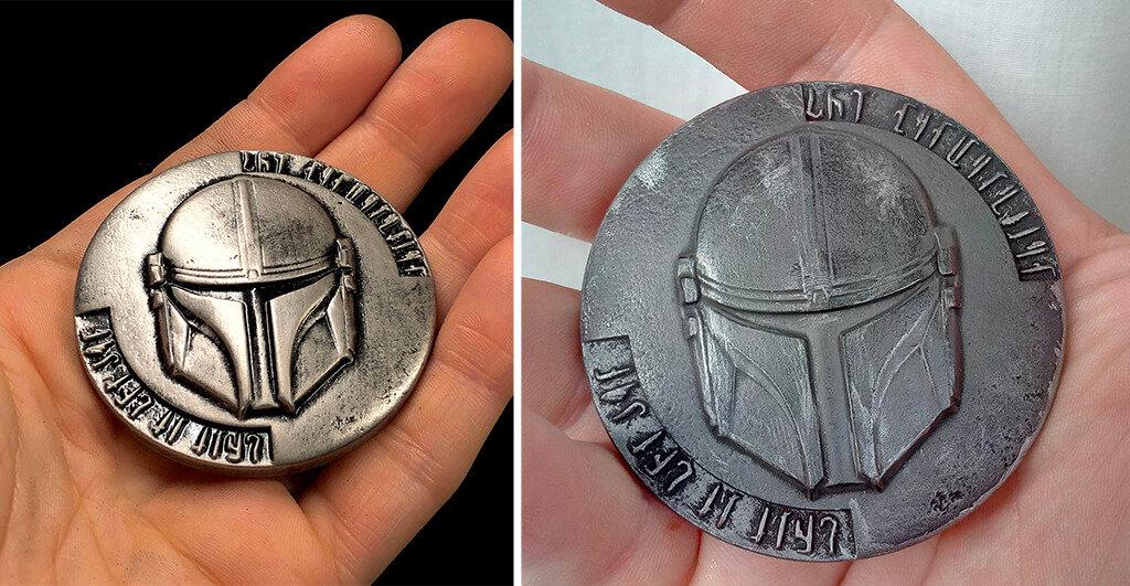 Mandalorian coin 3D print