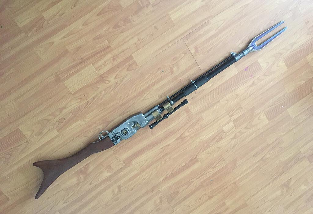 Mandalorian rifle STL files 3D model for printing