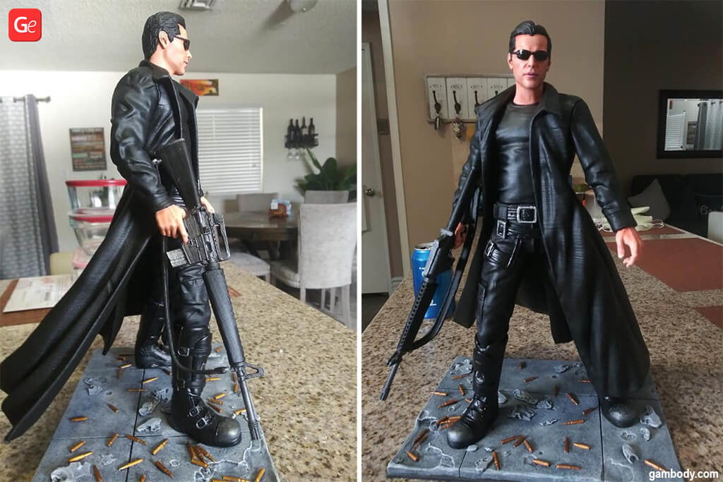 Neo Matrix 3D model things to 3D print 2020