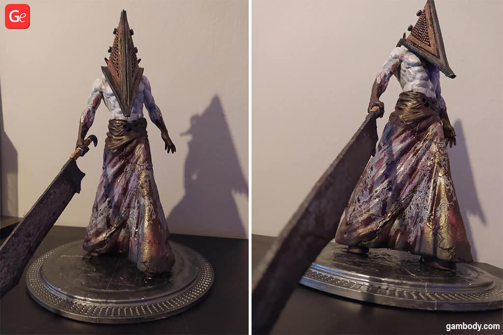 Pyramid Head Silent Hill awesome 3D printed projects