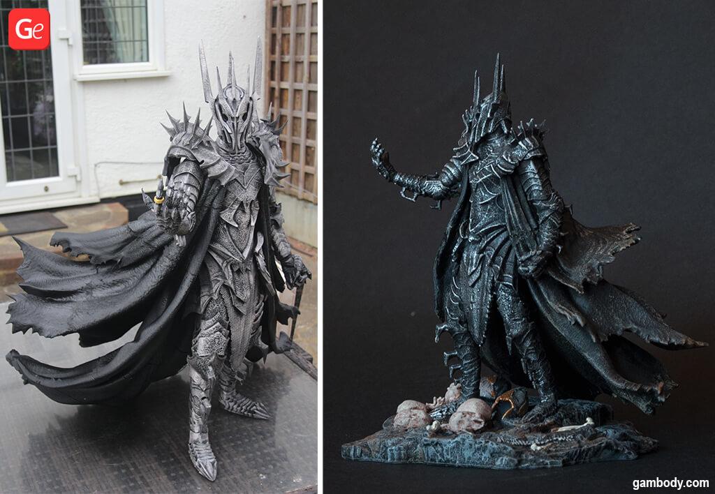Sauron 3D print