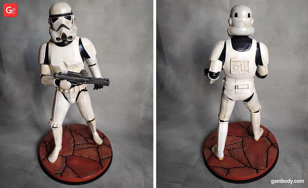 Stormtrooper Mandalorian 3D model for printing