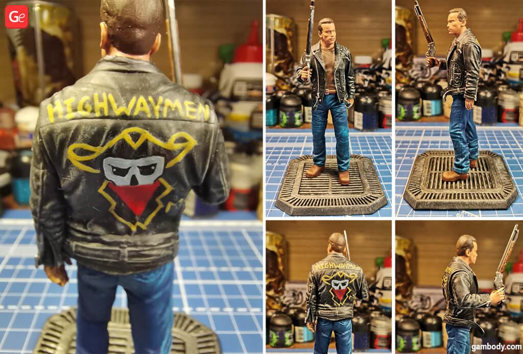 Terminator 3D printing figurine