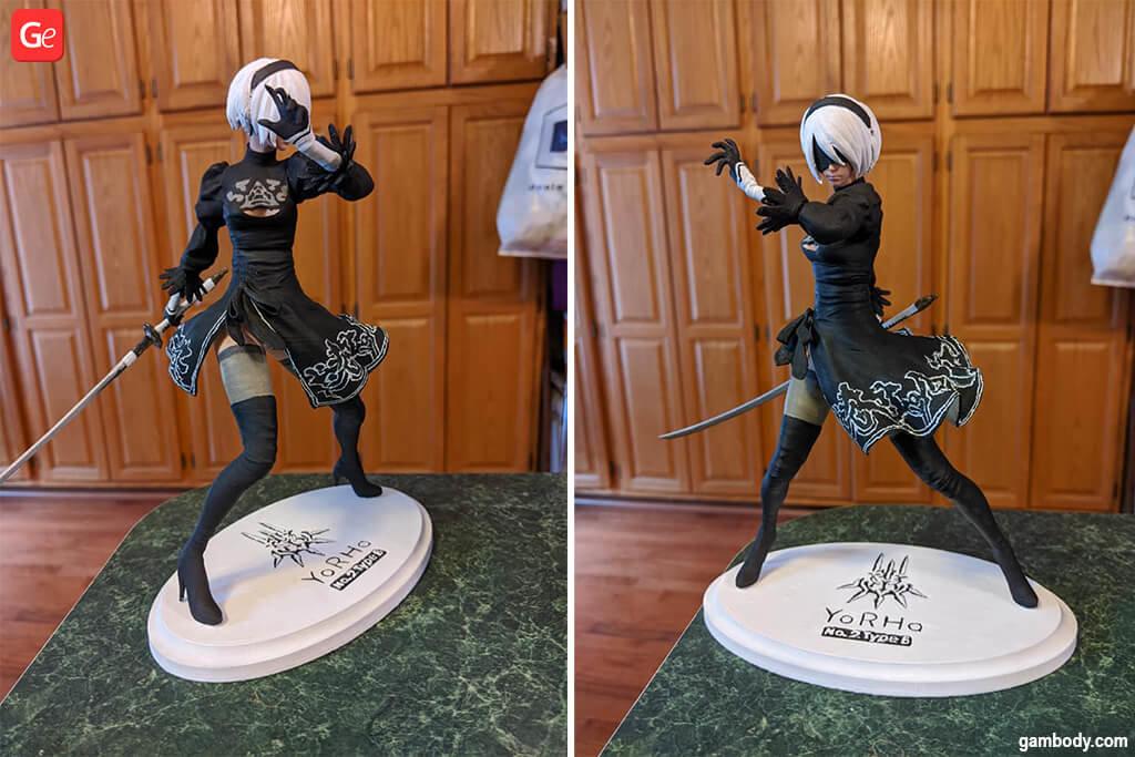 YoRHa 2B 3D printing figurine
