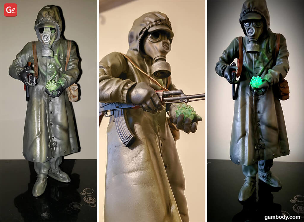Chernobyl Liquidator 3D printing figurine