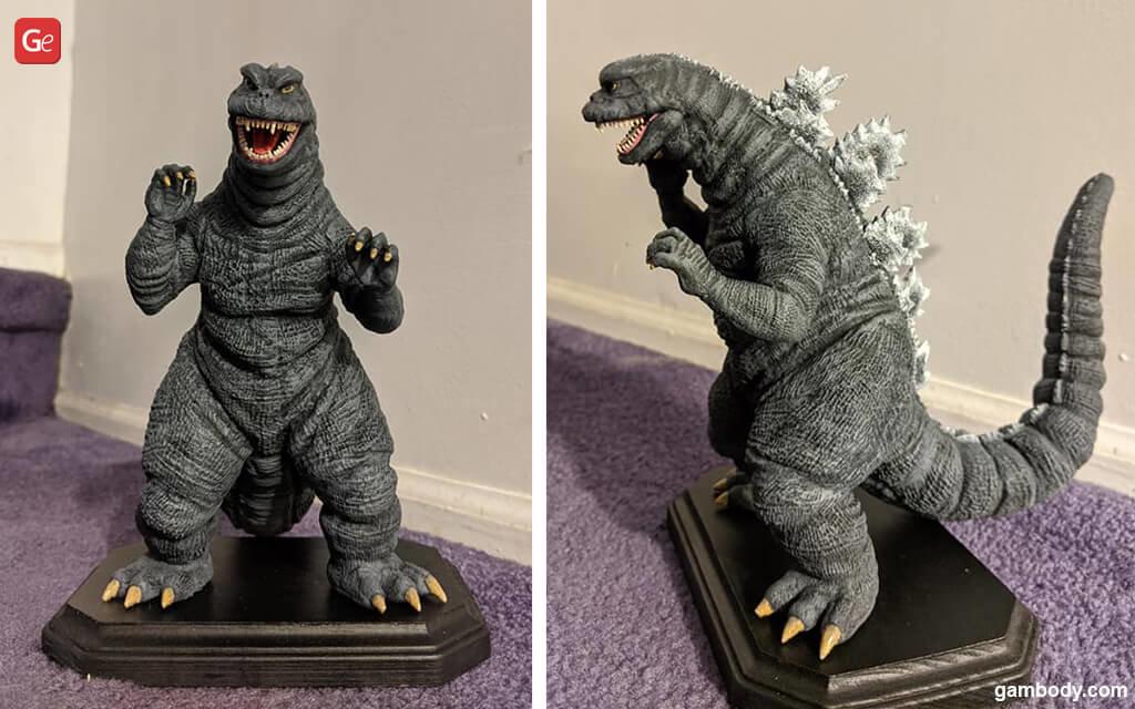 SoshingekiGoji Godzilla best models to 3D print