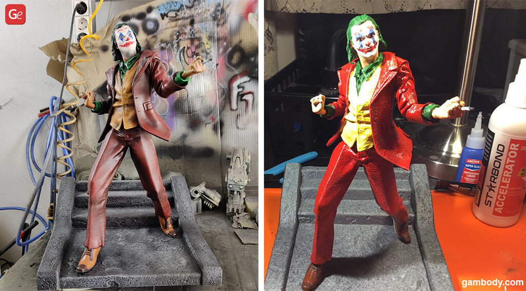 Joker best models to 3D print