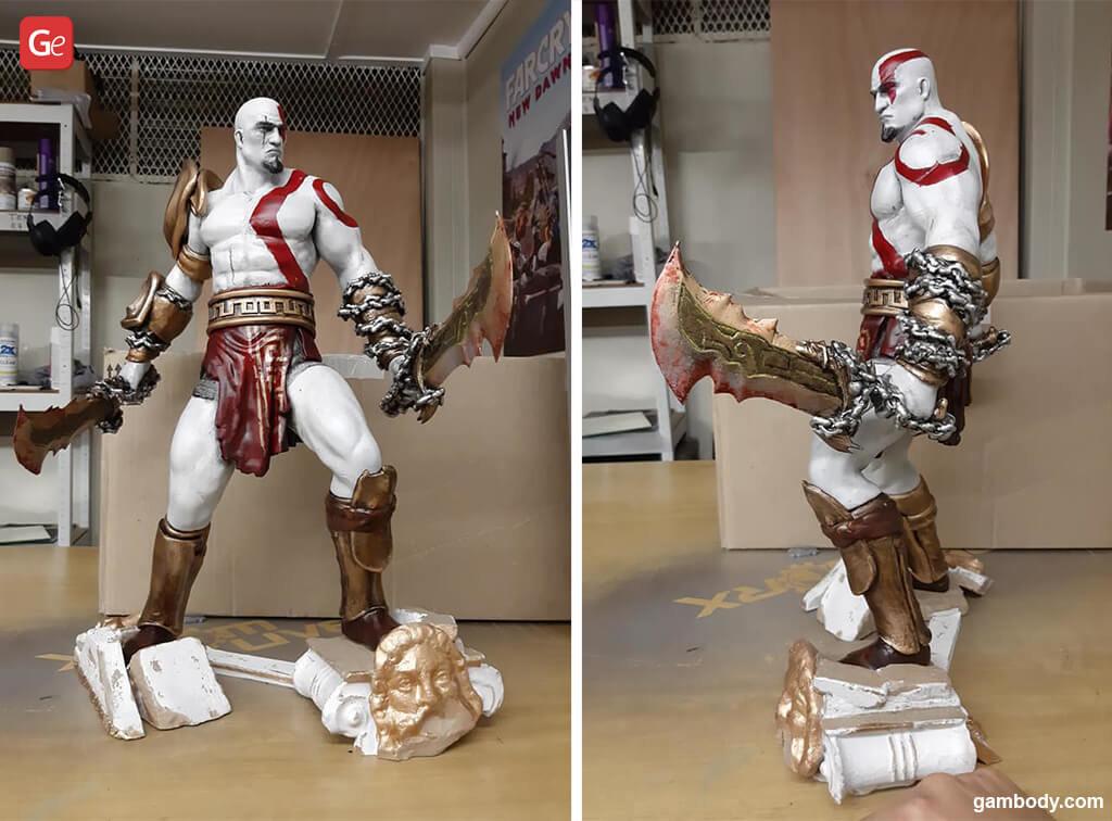 God of War Kratos cool things to 3D print