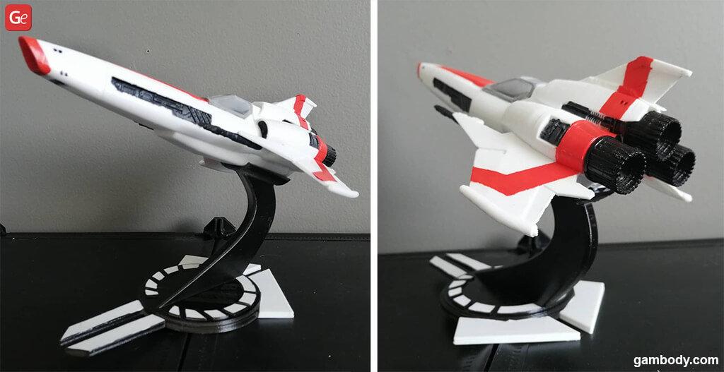 Viper Mk2 Battlestar Galactica model for 3D printing