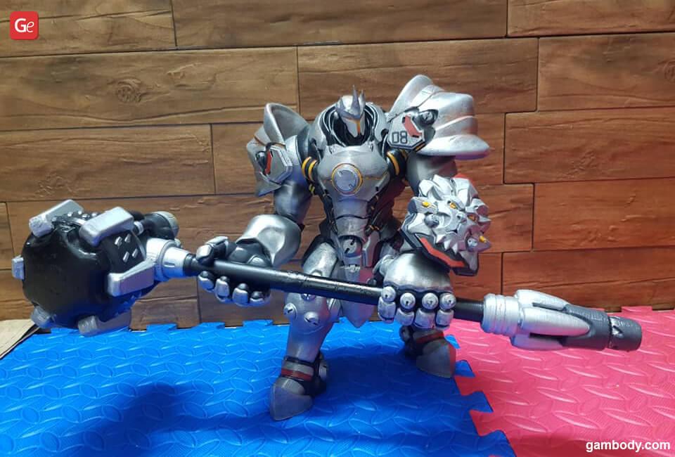 Reinhardt tank hero from Overwatch best models to 3D print