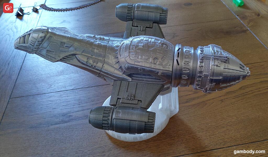Serenity spaceship best models to 3D print