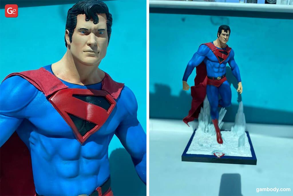 Superman best models to 3D print