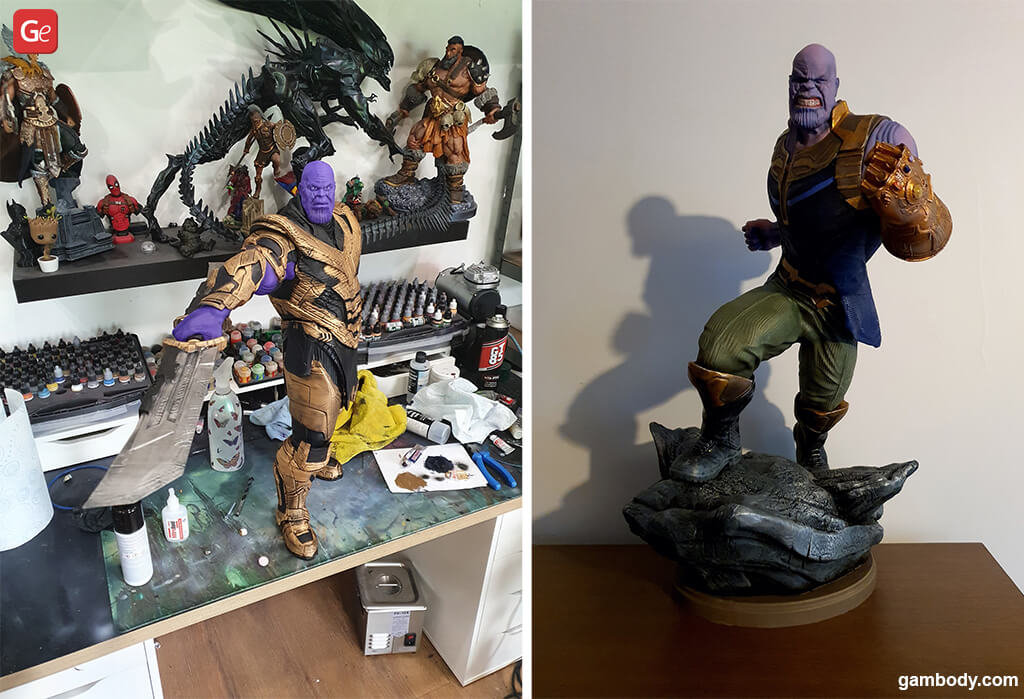Thanos cool things to 3D print in 2020
