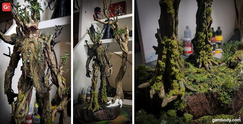 Treebeard 3D printing figurine cool things to 3D print