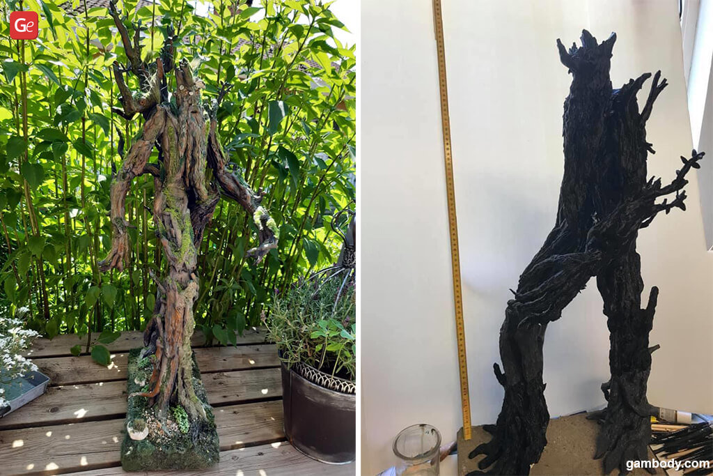 Treebeard best models to 3D print Lord of the Rings