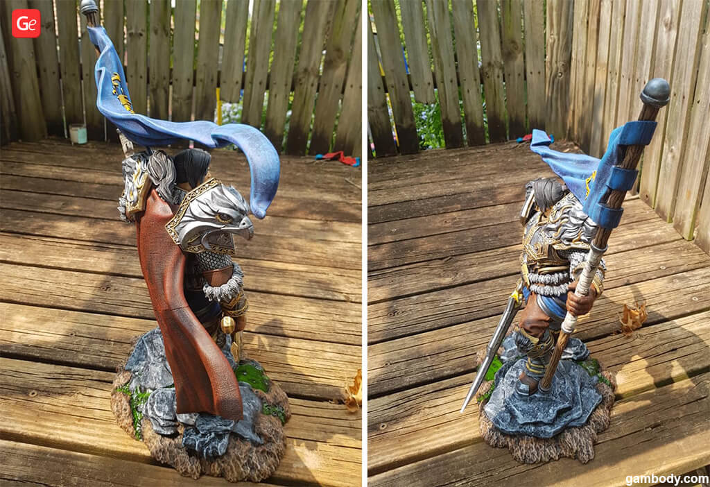 WoW classic King of Stormwind 3D print