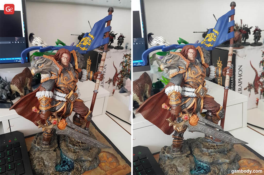 Varian Wrynn figurine best models to 3D print