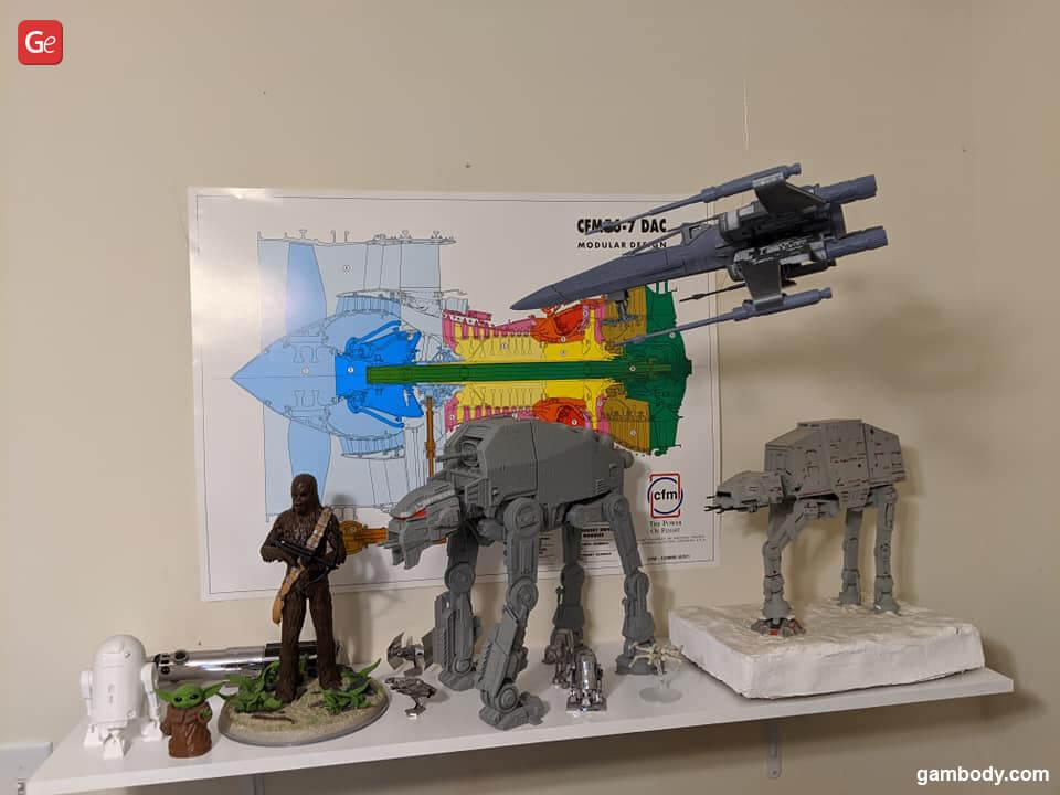 Best Star Wars models to 3D print
