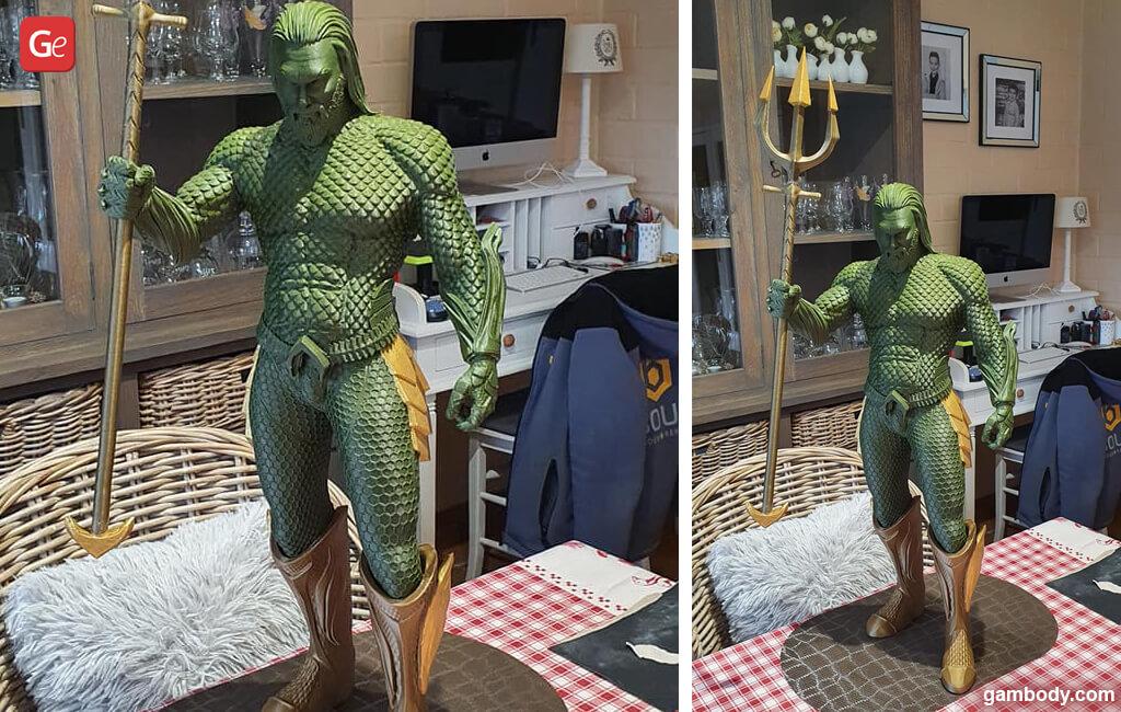 Aquaman top 3D print 2020