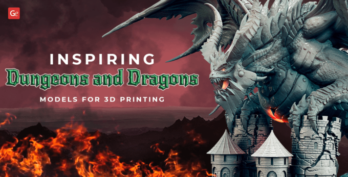 Inspiring Dungeons and Dragons Models: Things to 3D Print for D&D
