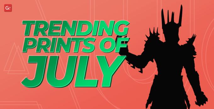 33 Top 3D Printing Models of July 2020
