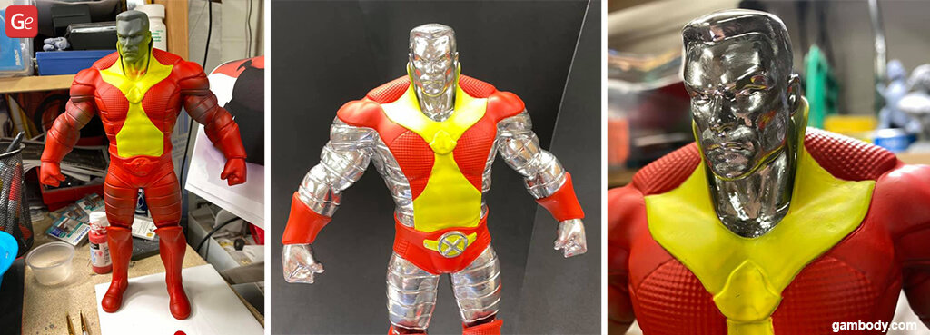 Colossus 3D printed figurine