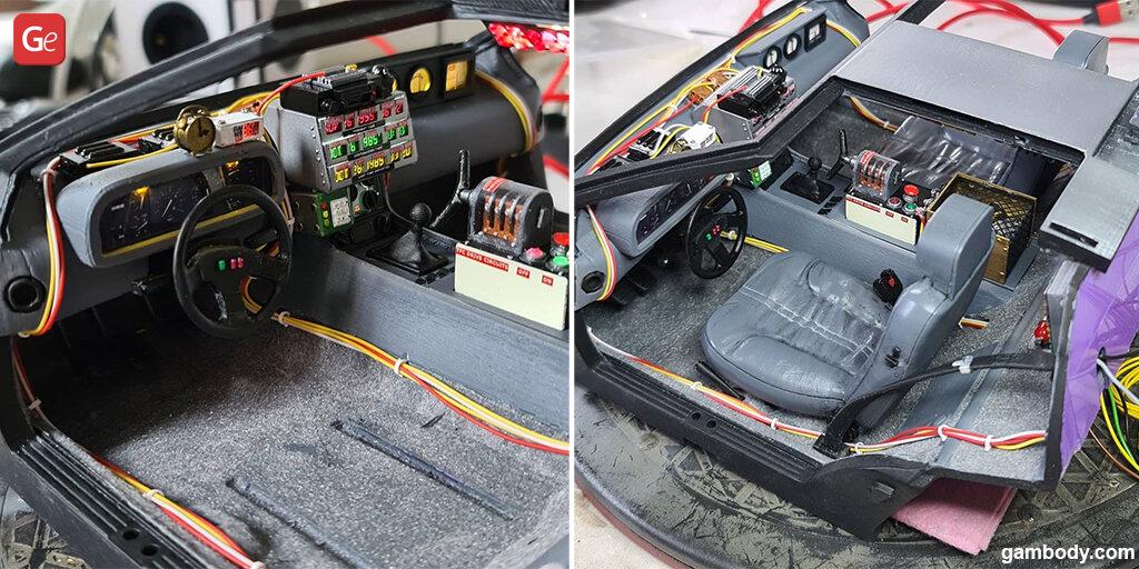 DeLorean 3D printing model