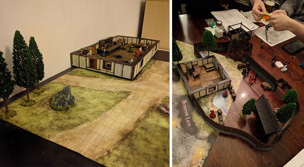 3D printed D&D terrain
