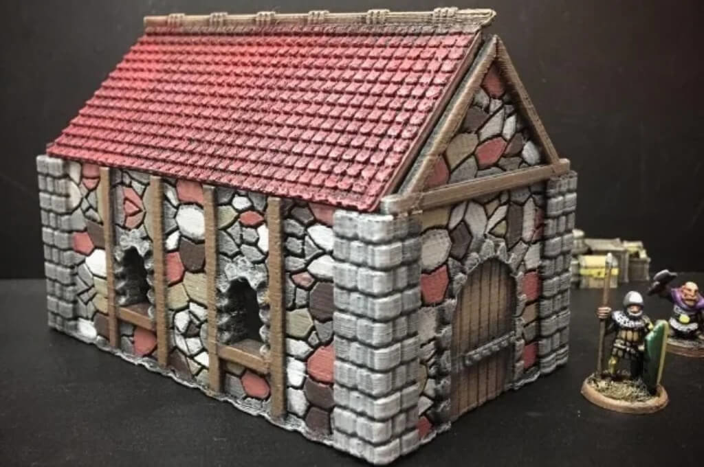 D&D cottage for 3D printing
