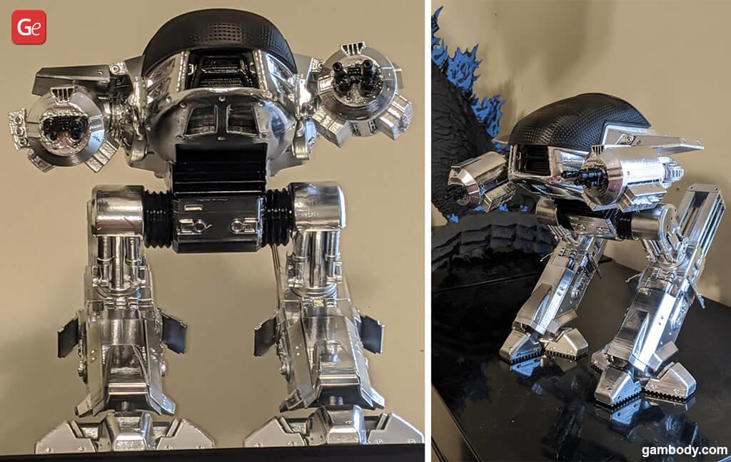 ED-209 top 3D printing models 2020