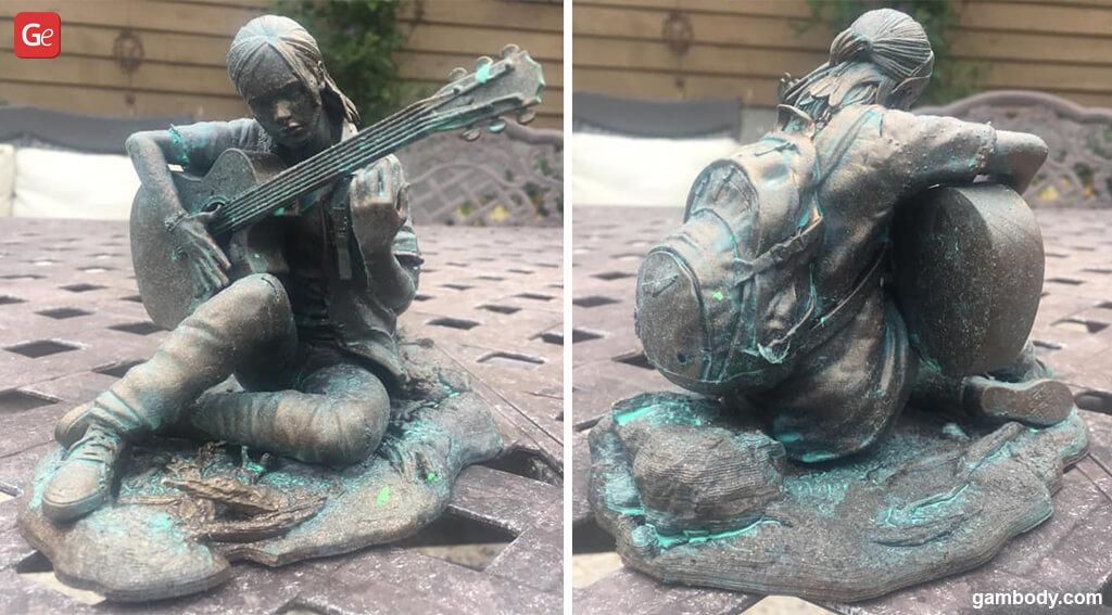 Ellie Last of Us guitar model for 3D printing