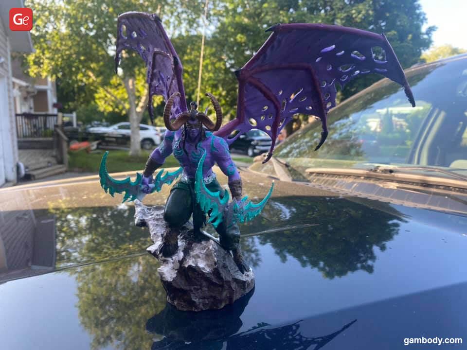 Illidan Stormrage top 3D printing models