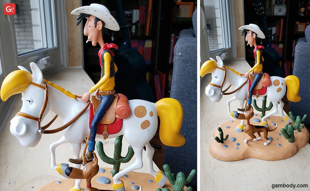 Lucky Luke cartoon 3D printing models