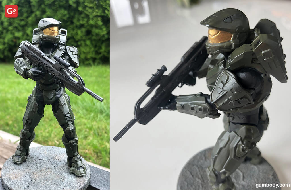 Master Chief 3D printing figurine