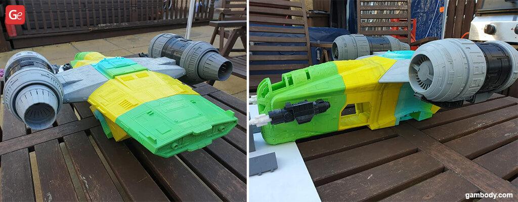 Razor Crest best 3D printing models 2020 Mandalorian