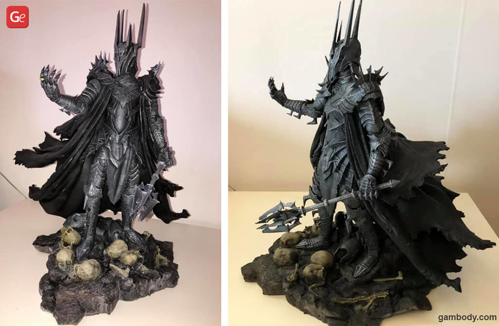 Sauron model for 3D printing